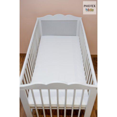 Habszivacs matrac  60x120-as méretben, fehér huzattal